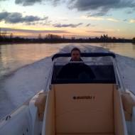 Master rib 7.8 Open. 1xMD300Hp+MSA-SXR/18 surface drive (Italy)