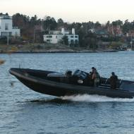 Powered by GM-MarineDiesel 'HUMMER series' (Sweden)