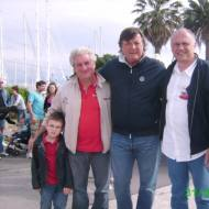 Our dear friends Adriano Panatta, Roberto Biancalana and Lorenzo at the Viareggio Mare 2009 (Italy)